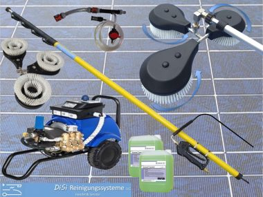 Photovoltaic-Cleaning-Set-Telescopic-Lance