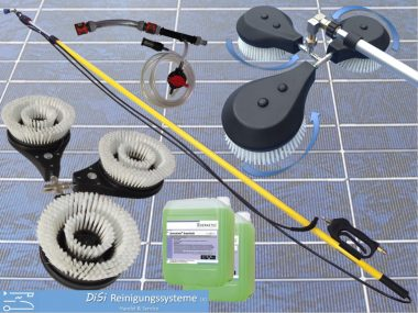 Photovoltaic-Cleaning-Telescopic-Lance-Descaling-Cleaner