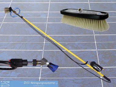 Photovoltaic-Cleaning-Wash-Brush-Telescopic-Lance