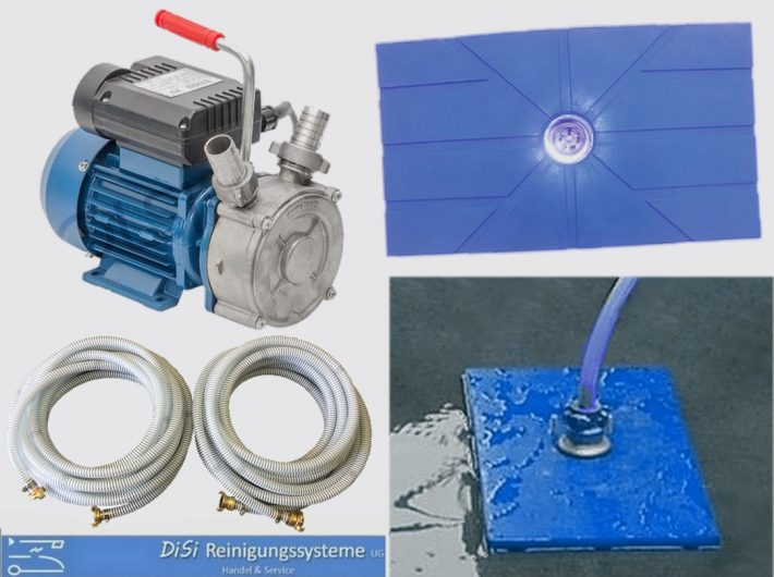 Facade-Cleaning-Suction-Mat-Wastewater-Pump