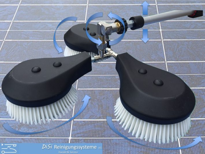Photovoltaic-Cleaning-High-Pressure-Rotating-Brush