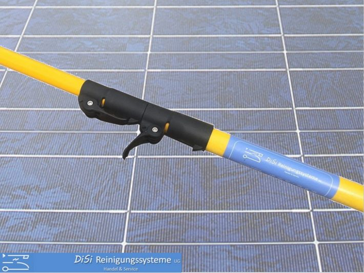 Photovoltaik-Cleaning-Telescopic-Lance